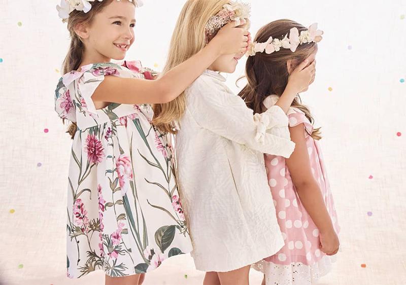 ropa de ceremonia infantil